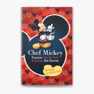 Walt Disney Spiral Hardback Chef Mickey Cook Book